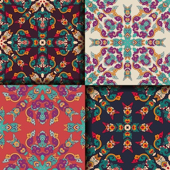 Colección de patrones geométricos