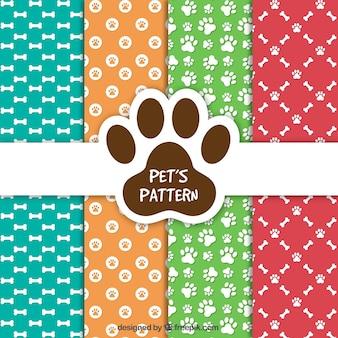 Colección de patrones de mascotas
