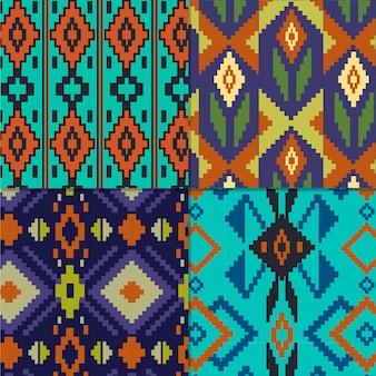 Colección de patrones songket