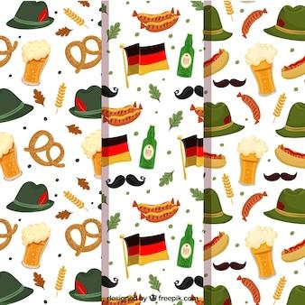 Colección de patrones con tradiciones alemanas