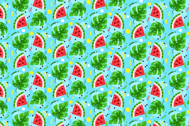 Colección de patrones de verano