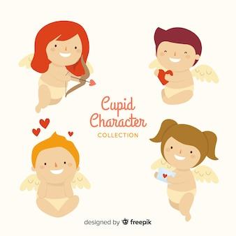 Colección de personajes de cupido