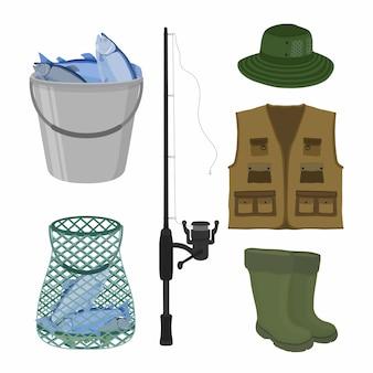 Colección de pesca