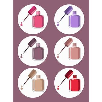 Colección de pintura de uñas