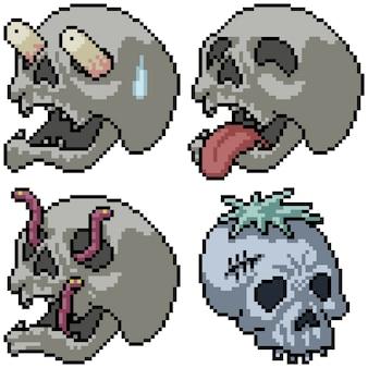 Colección de pixel art de terror