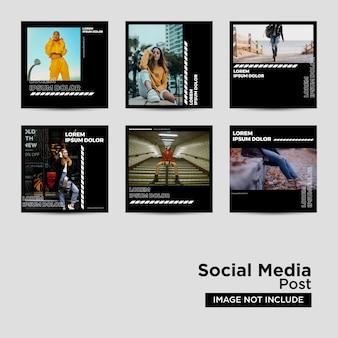 Colección de plantillas de redes sociales