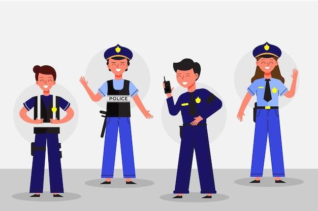 Colección de la policía