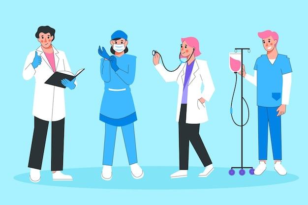 Colección profesional de salud