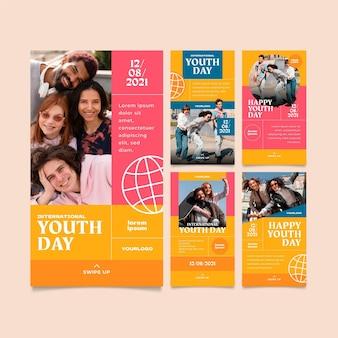 Colección de publicaciones del día internacional de la juventud