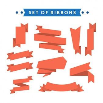 Colección de ribbons a color