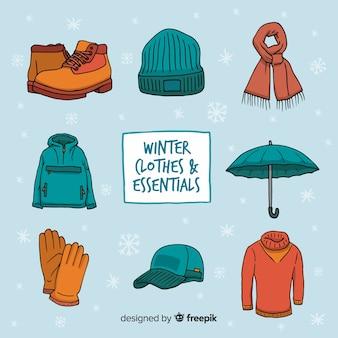 Colección ropa y esenciales invierno