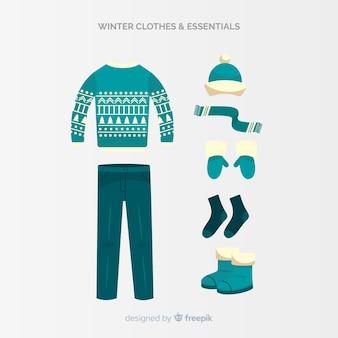 Colección ropa y esenciales de invierno