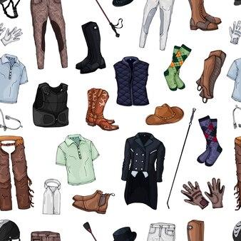 Colección de ropa de jinete