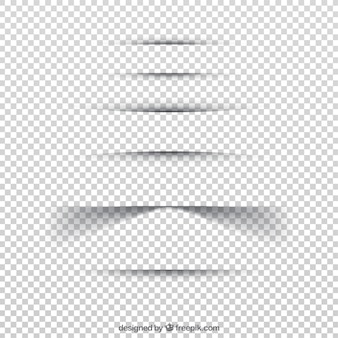 Colección de separadores de página sin fondo