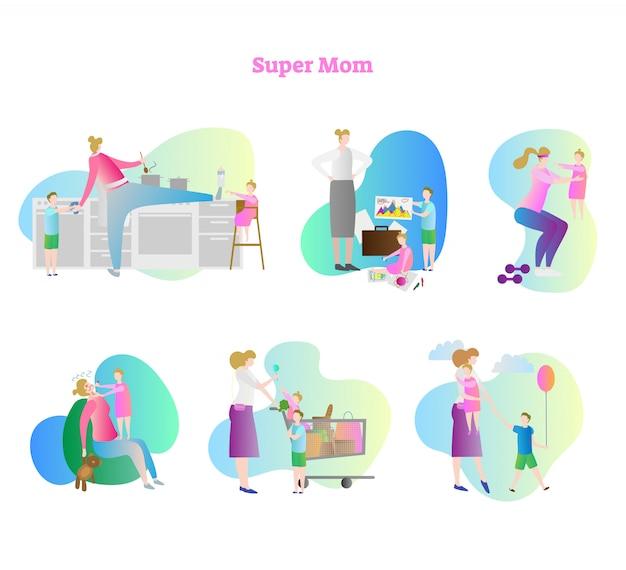 Colección super mamá