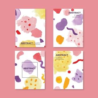 Colección de tarjetas artísticas