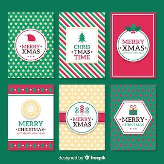 Colección tarjetas de navidad