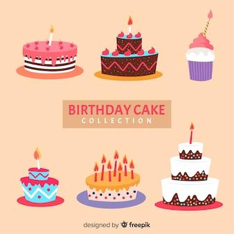 Colección tartas cumpleaños