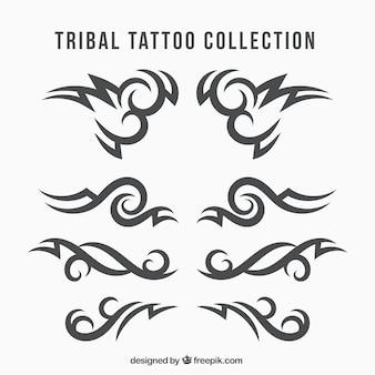 Colección de tatuajes tribales étnicos