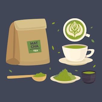 Colección de té matcha