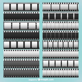 Colección de tiras de película