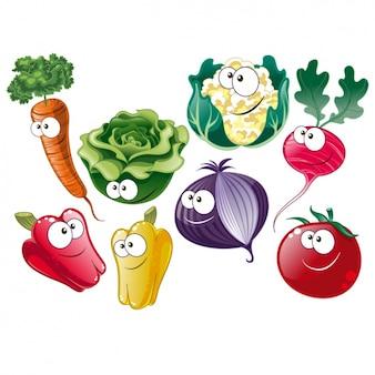 Colección de vegetales