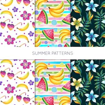 Colección de verano patrón