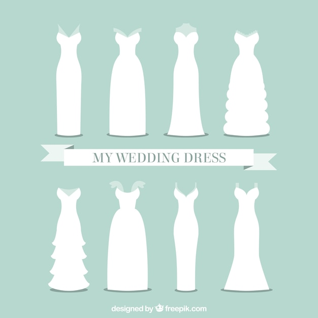 Como dibujar un vestido de novia