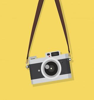 Colgando cámara vintage