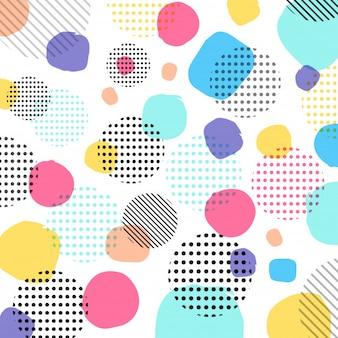 Color de pasteles modernos abstractos
