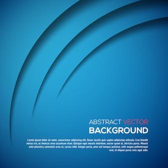 Color de fondo azul abstracto 3d