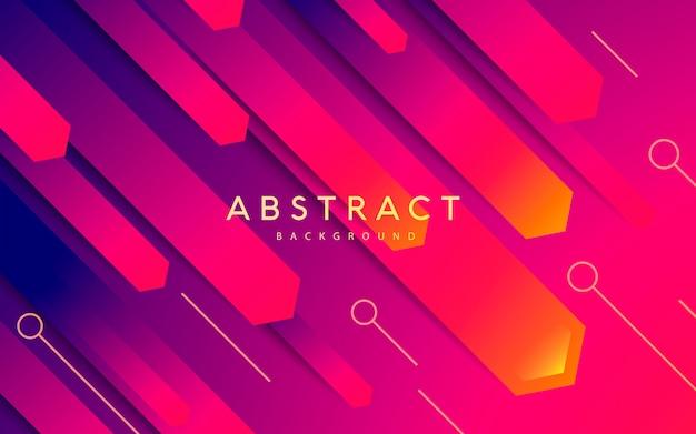 Color de gradiente de fondo moderno abstracto
