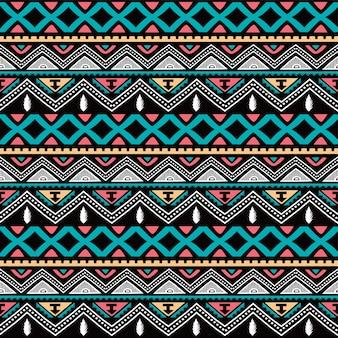 Color nativo étnico de patrones sin fisuras