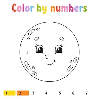 Color por números.