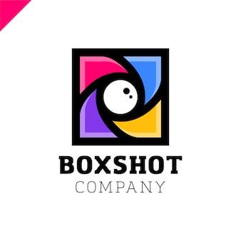 Color square camera obturador mark