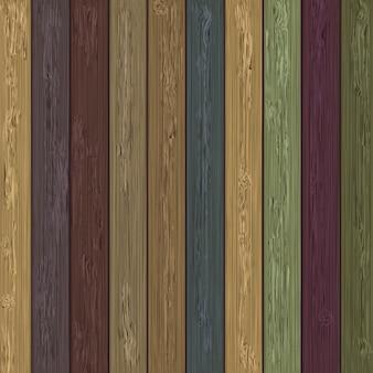 Colores de fondo de madera
