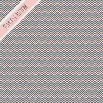 Colores pastel zig zag de patrones sin fisuras