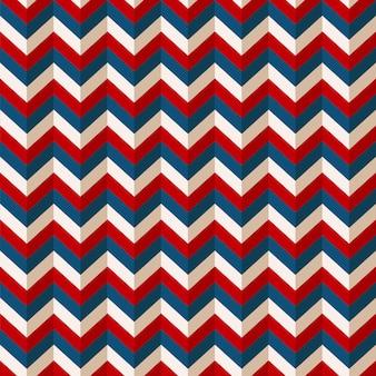 Colores patrióticos americanos del fondo retro