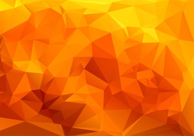 Coloridas formas poligonales para un fondo geométrico