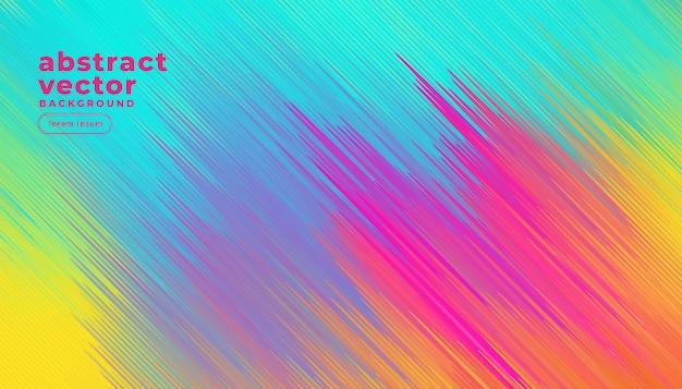 Coloridas líneas diagonales resumen de antecedentes