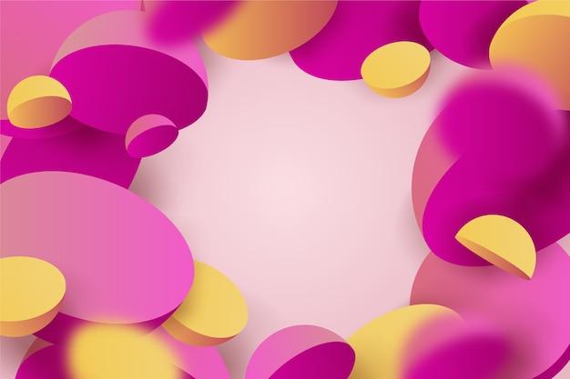 Colorido fondo 3d