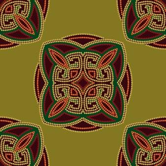 Colorido fondo étnico sin patrón