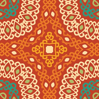 Colorido tribal étnico de patrones sin fisuras