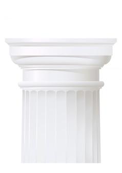 Columna de estilo clásico