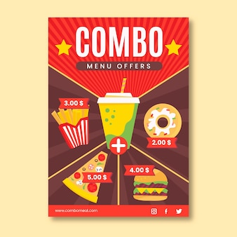 Combo combo - póster