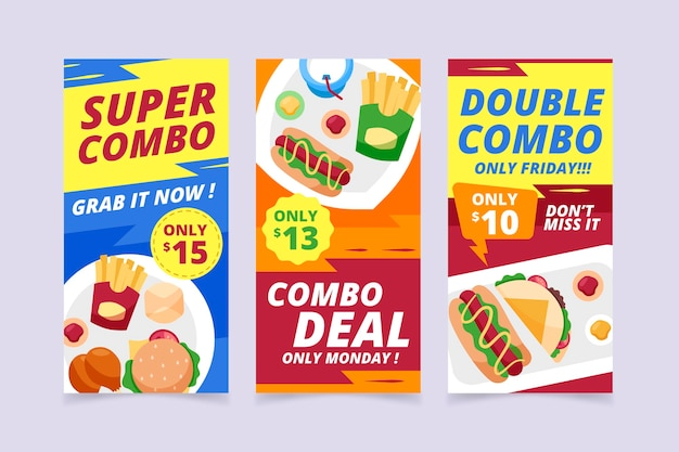 Combo ofrece banners
