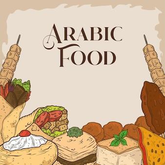 Comida árabe auténtica