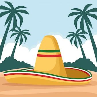 Comida mexicana y cultura tradicional.