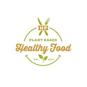 Comida natural organice vintage
