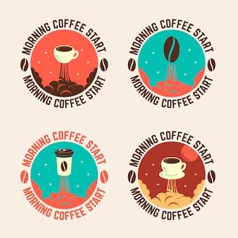 Comienzo del café de la mañana
